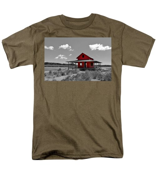 Standing Out All Alone Men's T-Shirt  (Regular Fit) by Catie Canetti
