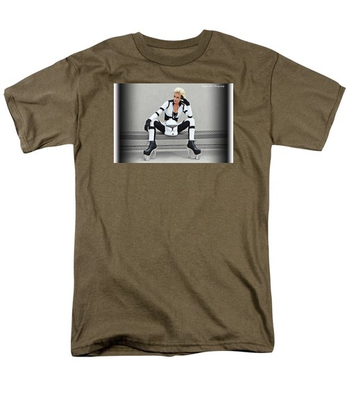 Star Wars By Knight 2000 Photography- Clone Trooper Men's T-Shirt  (Regular Fit) by Laura Michelle Corbin