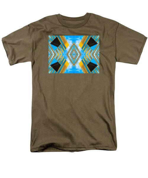 State And Grand Diamond N92 V3  Men's T-Shirt  (Regular Fit) by Raymond Kunst