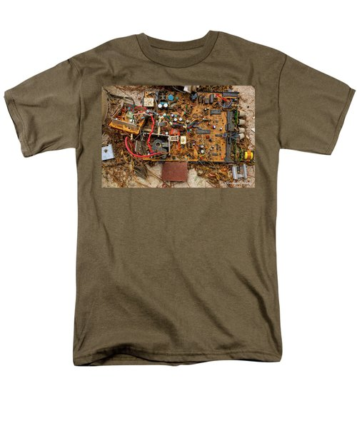 Men's T-Shirt  (Regular Fit) featuring the photograph State Of The Art by Christopher Holmes