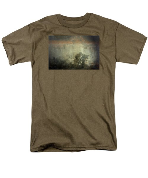 Station  Men's T-Shirt  (Regular Fit) by Mark Ross