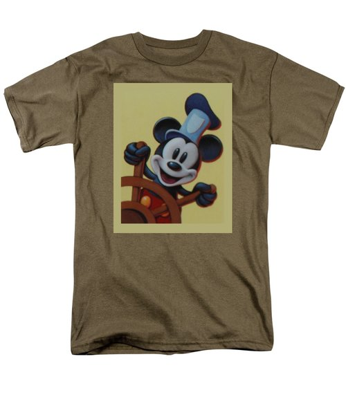 Steamboat Willy Men's T-Shirt  (Regular Fit) by Rob Hans