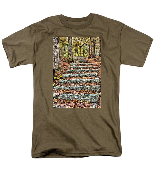 Step Into The Woods Men's T-Shirt  (Regular Fit) by Debbie Stahre