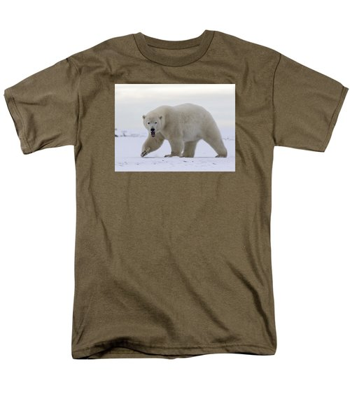 Stepping Out In The Arctic Men's T-Shirt  (Regular Fit)