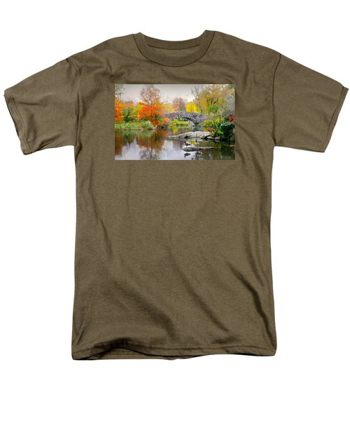 Stepping Stones Men's T-Shirt  (Regular Fit) by Diana Angstadt