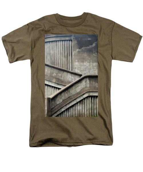 Steps Men's T-Shirt  (Regular Fit) by Newel Hunter