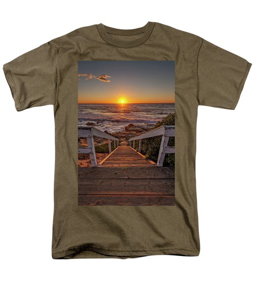Steps To The Sun  Men's T-Shirt  (Regular Fit) by Peter Tellone