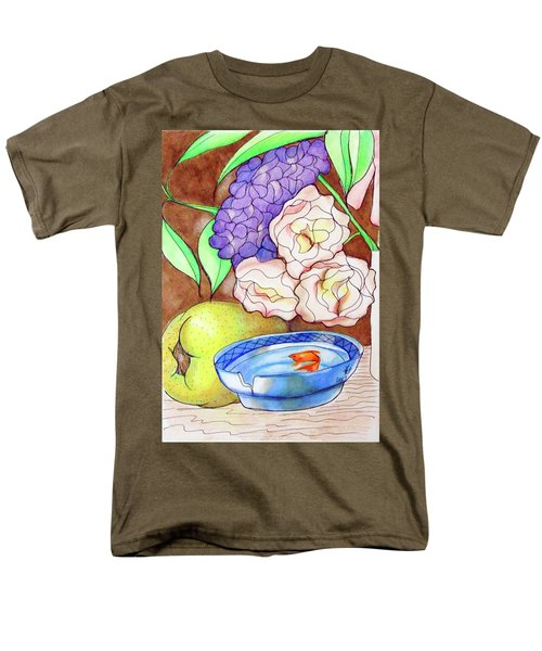 Still Life With Fish Men's T-Shirt  (Regular Fit) by Loretta Nash