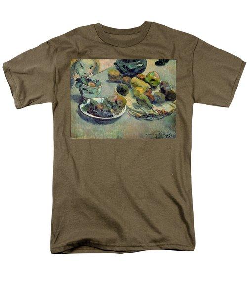 Still Life With Fruit Men's T-Shirt  (Regular Fit) by Paul Gauguin