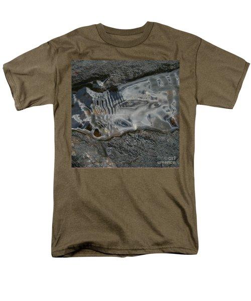 Still Stream Skeleton Screams Men's T-Shirt  (Regular Fit) by Carol Lynn Coronios