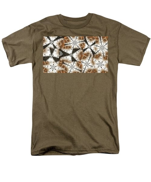 Men's T-Shirt  (Regular Fit) featuring the digital art Stitched 3 by Ron Bissett