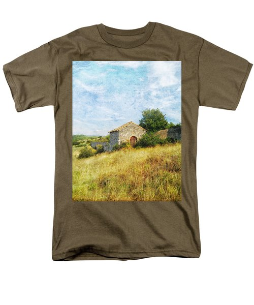 Provence Countryside Men's T-Shirt  (Regular Fit) by Catherine Alfidi