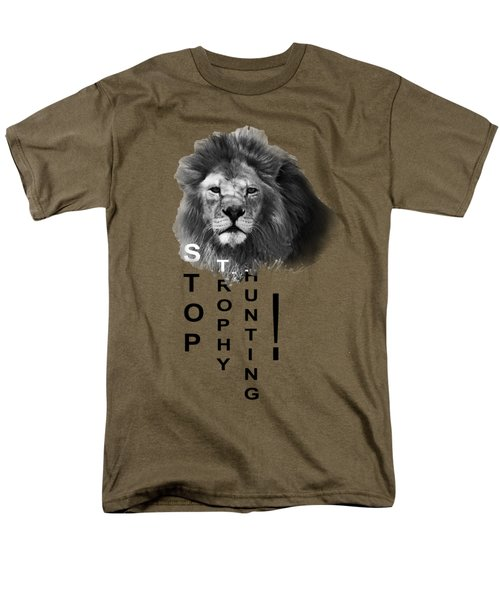 Men's T-Shirt  (Regular Fit) featuring the photograph Stop Trophy Hunting by Jivko Nakev