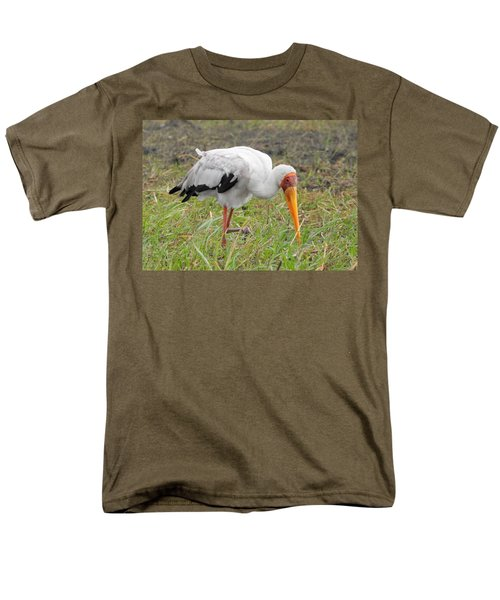Men's T-Shirt  (Regular Fit) featuring the photograph Stork by Betty-Anne McDonald
