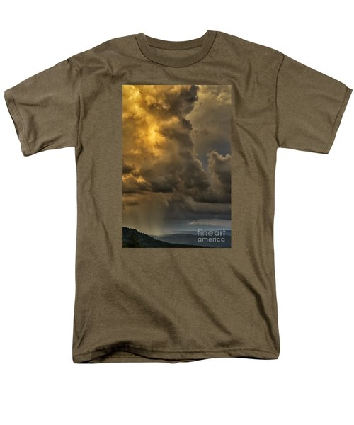 Storm Couds And Mountain Shower Men's T-Shirt  (Regular Fit) by Thomas R Fletcher