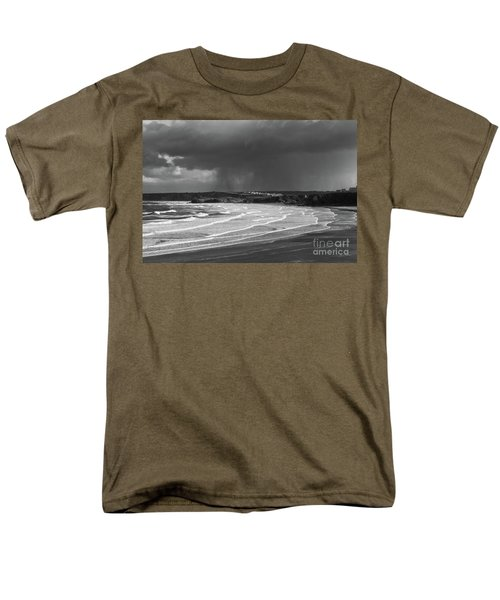 Men's T-Shirt  (Regular Fit) featuring the photograph Storm  Over The Bay by Nicholas Burningham