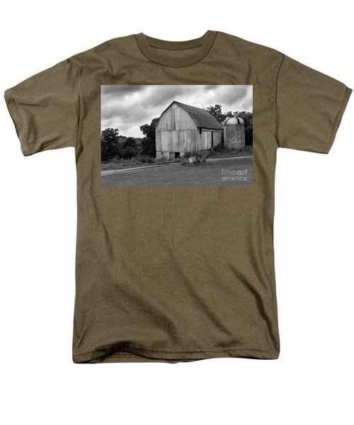 Stormy Barn Men's T-Shirt  (Regular Fit) by Perry Webster