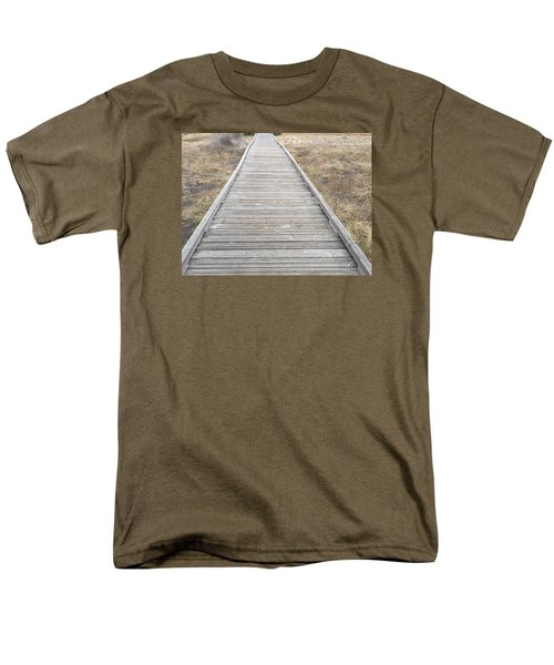 Straight And Narrow Men's T-Shirt  (Regular Fit) by Russell Keating