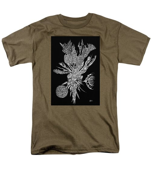 Bouquet Of Curiosity Men's T-Shirt  (Regular Fit) by Charles Cater