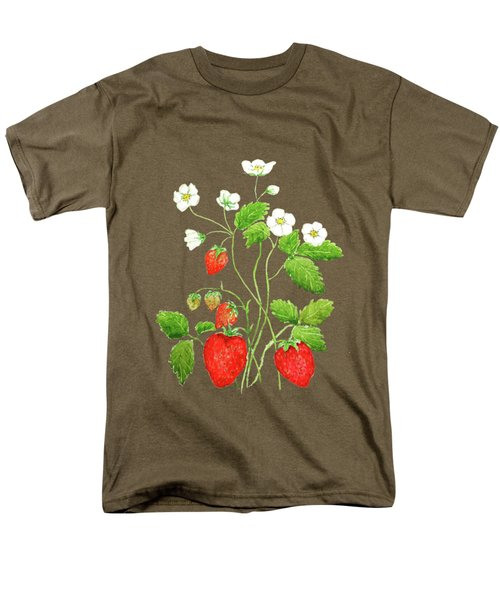 Strawberry  Men's T-Shirt  (Regular Fit) by Color Color