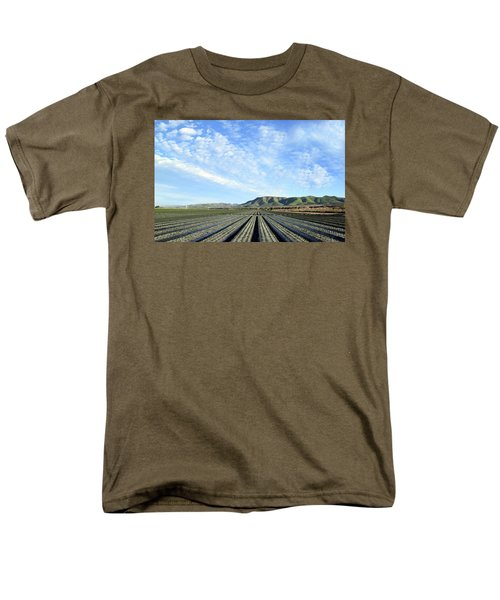 Men's T-Shirt  (Regular Fit) featuring the photograph Strawberry Fields Forever 3 by Floyd Snyder