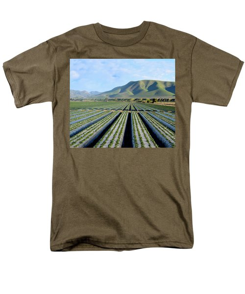 Men's T-Shirt  (Regular Fit) featuring the photograph Strawberry Fields Forever by Floyd Snyder