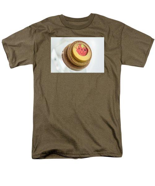 Strawberry Strawberry Men's T-Shirt  (Regular Fit) by Sabine Edrissi