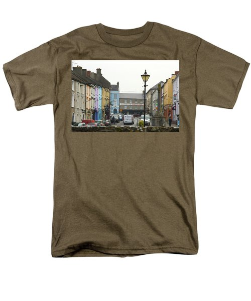 Men's T-Shirt  (Regular Fit) featuring the photograph Streets Of Cahir by Marie Leslie