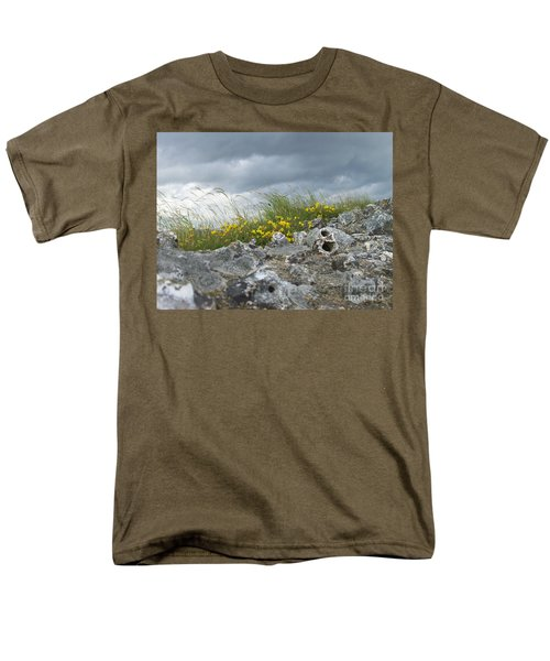 Striking Ruins Men's T-Shirt  (Regular Fit) by Mary Mikawoz