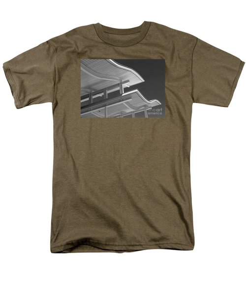 Men's T-Shirt  (Regular Fit) featuring the photograph Structure Abstract 6 by Cheryl Del Toro