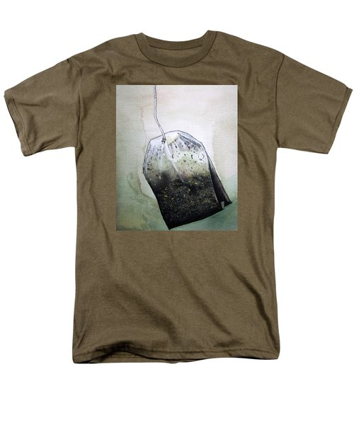 Submerged Tea Bag Men's T-Shirt  (Regular Fit) by Mary Ellen Frazee