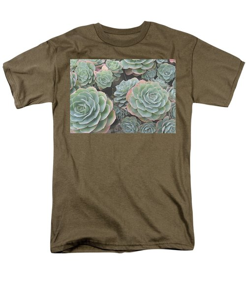 Succulent 2 Men's T-Shirt  (Regular Fit) by David Hansen