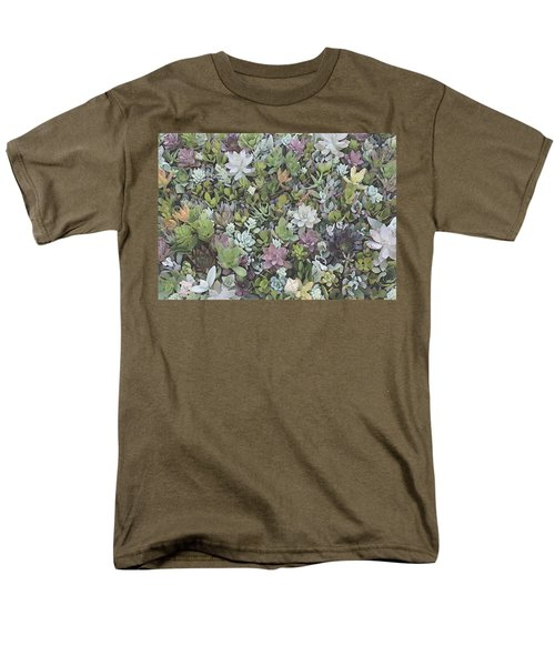Succulent 8 Men's T-Shirt  (Regular Fit) by David Hansen