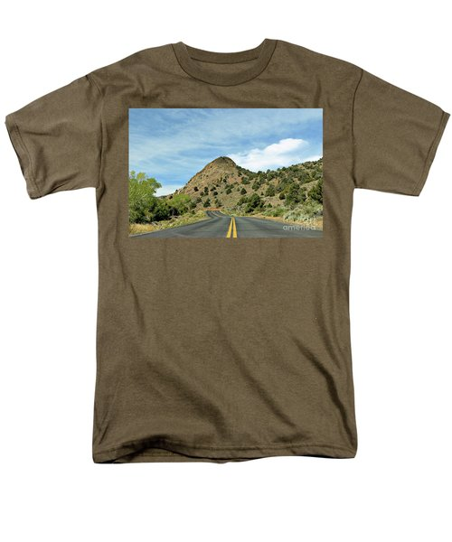 Men's T-Shirt  (Regular Fit) featuring the photograph Sugarloaf Mountain In Six Mile Canyon by Benanne Stiens