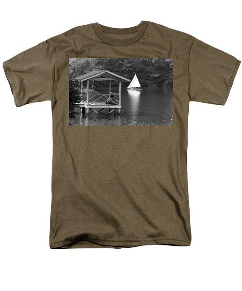Summer Camp Black And White 1 Men's T-Shirt  (Regular Fit)