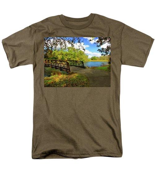 Summer Crossing Men's T-Shirt  (Regular Fit) by Cedric Hampton