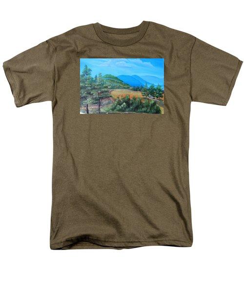Summer Fields 2 Men's T-Shirt  (Regular Fit) by Remegio Onia