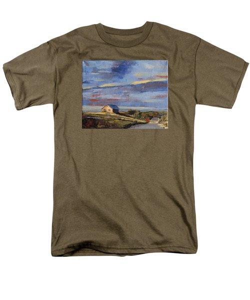 Summer Glow Men's T-Shirt  (Regular Fit) by Trina Teele