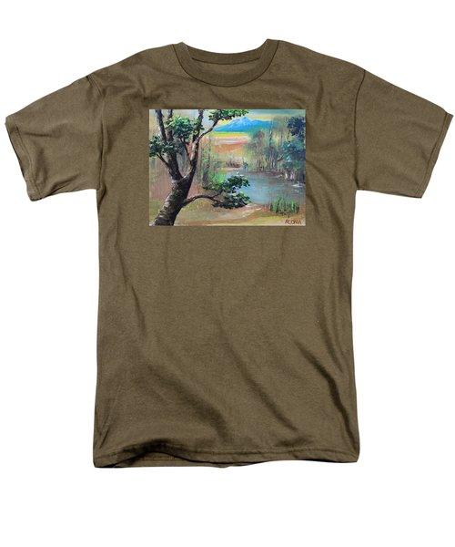 Summer Leaves Men's T-Shirt  (Regular Fit)