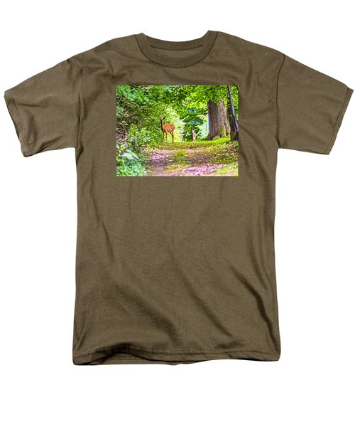 Men's T-Shirt  (Regular Fit) featuring the photograph Summer Stroll by Anthony Baatz