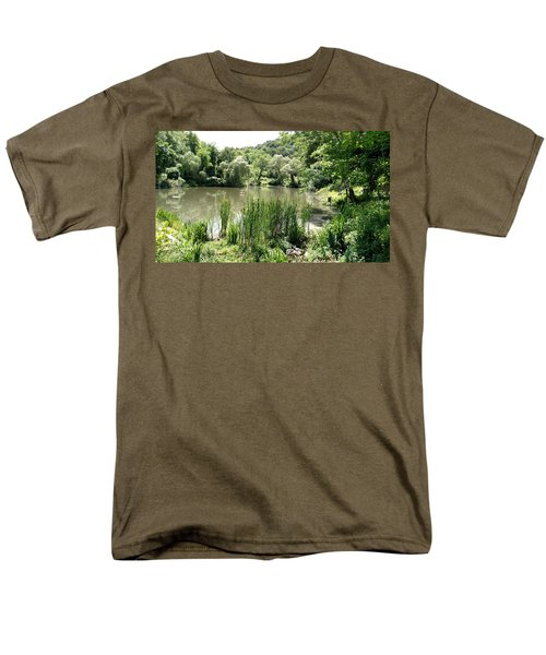 Summer Swamp Men's T-Shirt  (Regular Fit) by James Guentner