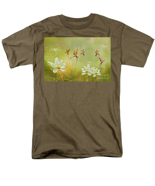 Men's T-Shirt  (Regular Fit) featuring the photograph Summer Symphony by Bonnie Barry