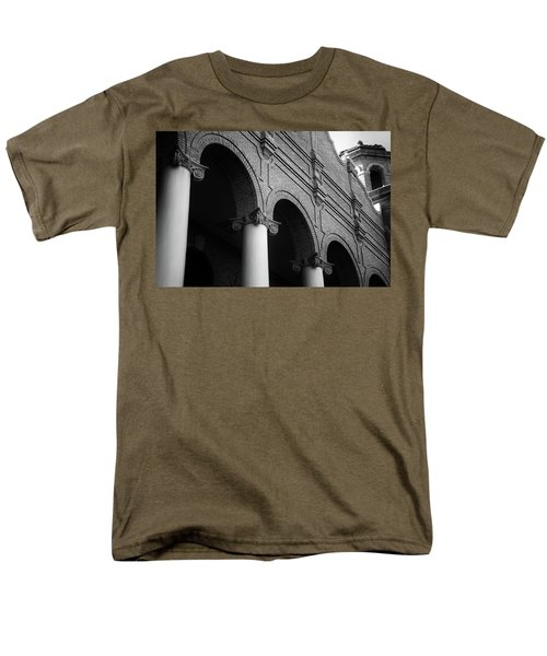 Men's T-Shirt  (Regular Fit) featuring the photograph Sumter County Courthouse by Richard Rizzo