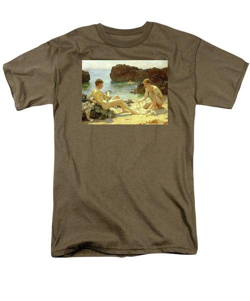 Sun Bathers Men's T-Shirt  (Regular Fit) by Henry Scott Tuke