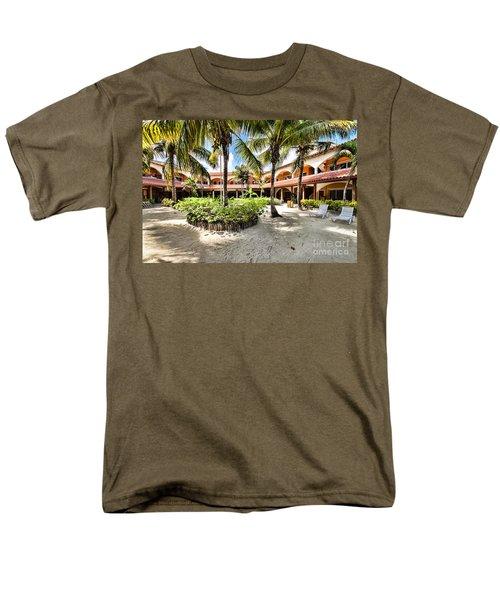 Sun Breeze Hotel Men's T-Shirt  (Regular Fit)
