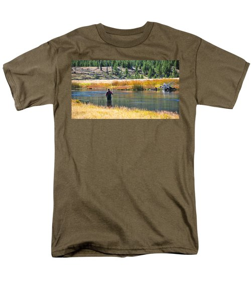 Sun Lights The Line Men's T-Shirt  (Regular Fit) by Eric Tressler