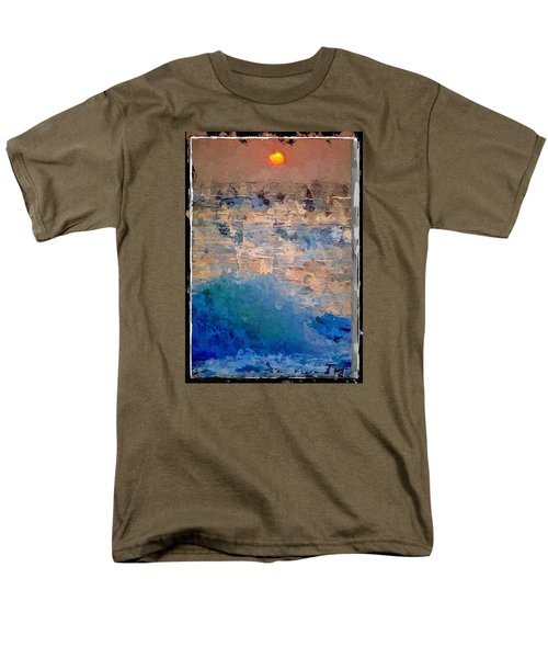 Sun Rays Abstract Men's T-Shirt  (Regular Fit) by Anthony Fishburne