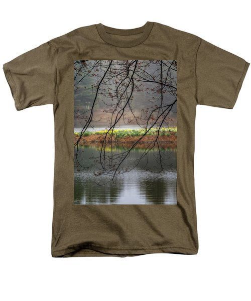 Men's T-Shirt  (Regular Fit) featuring the photograph Sun Shower by Bill Wakeley