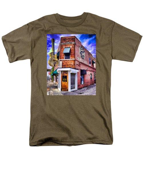 Sun Studio Men's T-Shirt  (Regular Fit) by Dennis Cox WorldViews