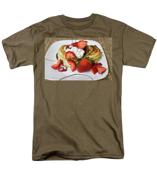 Sunday Breakfast - Food- Kitchen Art Men's T-Shirt  (Regular Fit) by Anne Rodkin